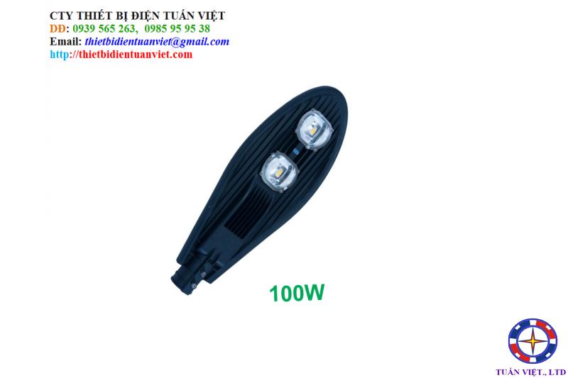 Đèn Đường Led 100W (đèn led chiếc lá)