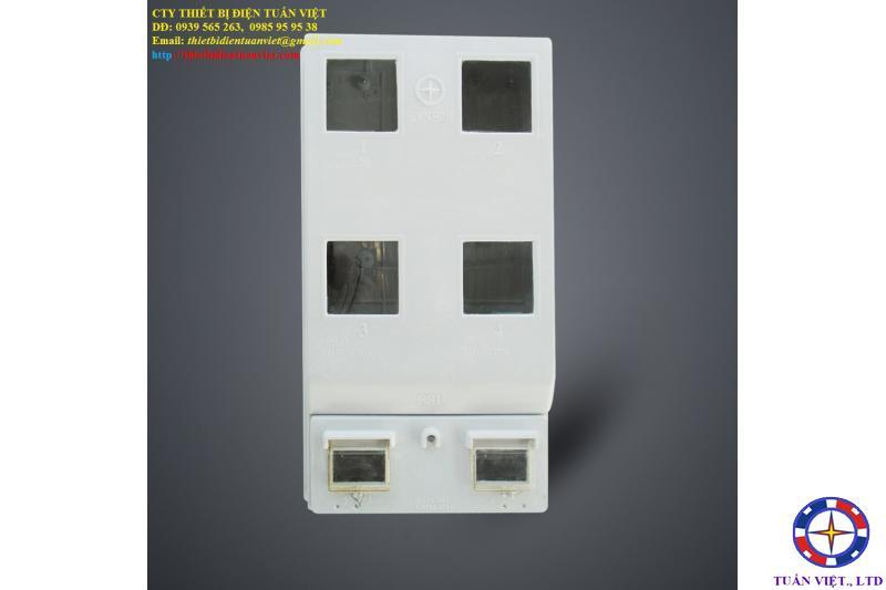 Hộp Bảo Vệ 4 Công Tơ 1P, Composite, Ngoài Trời