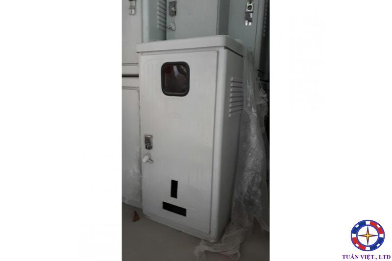 Tủ Điện Kế-MCCB 2 Ngăn Composite 450x920x420mm (Đứng)